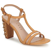 Sapatos Mulher Sandálias Lola Cruz STUDDED Bege