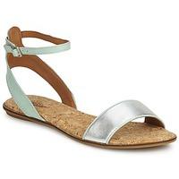 Sapatos Mulher Sandálias Lucky Brand COVELA Black/indian magenta / Prata