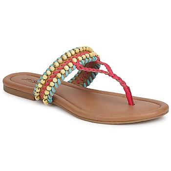Sapatos Mulher Sandálias Lucky Brand DOLLIS Escuro / Camel / Teaberry / Azul