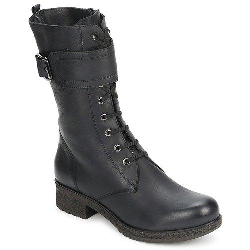 Sapatos Mulher Botas Unisa BLACK Preto
