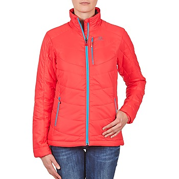 Textil Mulher Quispos Salomon Jacket INSULATED JACKET W PAPAYA-B Coral