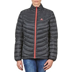 Textil Mulher Quispos Salomon Jacket HALO DOWN JACKET W BLACK Preto