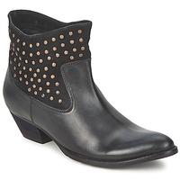 Sapatos Mulher Botas baixas Friis & Company DUBAI FLIC Preto