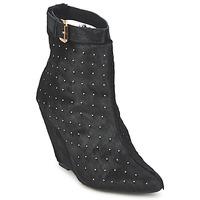 Sapatos Mulher Botins Friis & Company KANPUR Preto