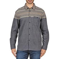 Textil Homem Camisas mangas comprida Element LENOX Cinza
