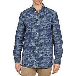 Textil Homem Camisas mangas comprida Suit ROD Azul