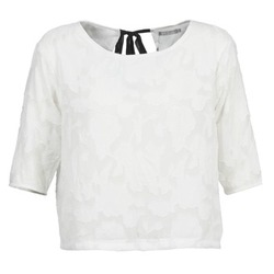 Textil Mulher Tops / Blusas Betty London DEARTBEAT Branco