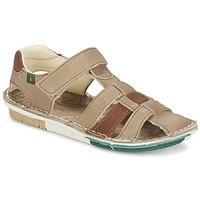 Sapatos Rapaz Sandálias El Naturalista KIRI Bege