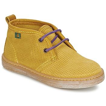 Sapatos Rapaz Botas baixas El Naturalista KEPINA Amarelo