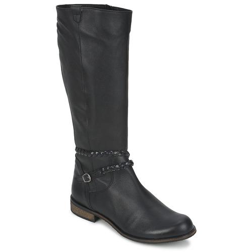 Sapatos Mulher Botas So Size BERTOU Preto