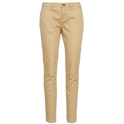 Textil Mulher Chinos Casual Attitude DOMINO Bege