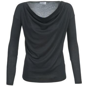 Textil Mulher T-shirt mangas compridas Casual Attitude DELINDA Preto