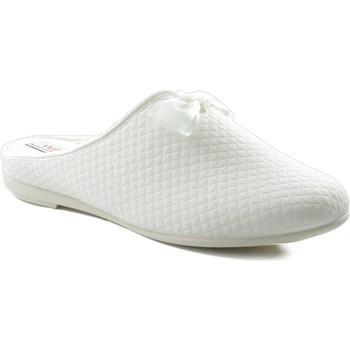 Sapatos Mulher Chinelos Vulladi CUADRADITO Y VERSATIL BLANCO