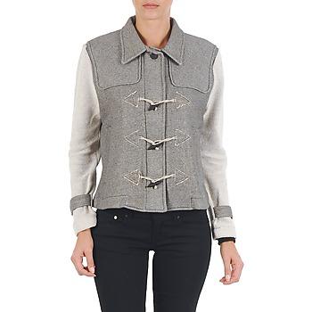 Textil Mulher Jaquetas Diesel G-JAYA-A SWEAT-SHIRT Cinza