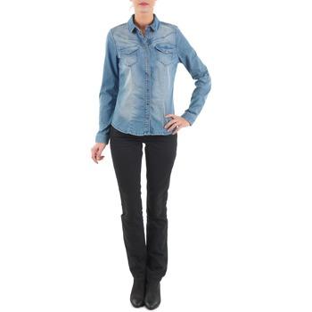 Textil Mulher Calças Jeans Diesel MYBOY TROUSERS Preto