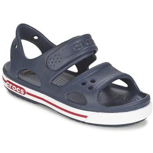 Sapatos Criança Sandálias Crocs CROCBAND II SANDAL PS Marinho / Branco