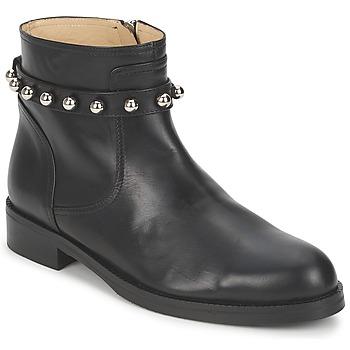 Sapatos Mulher Botas baixas Moschino Cheap & CHIC CA21102MOYCE0000 Preto