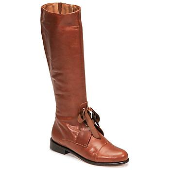 Sapatos Mulher Botas Fericelli MAURA Camel