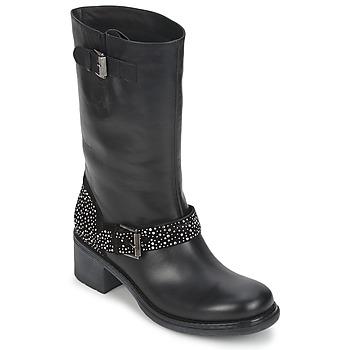 Sapatos Mulher Botas baixas Janet Sport CARYFENO Preto