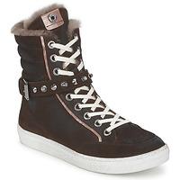 Sapatos Mulher Sapatilhas de cano-alto Janet Sport MOROBRAD Castanho