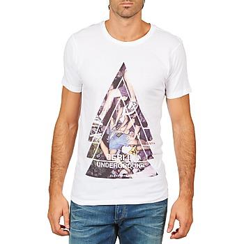 Textil Homem T-Shirt mangas curtas Eleven Paris BERLIN M MEN Branco