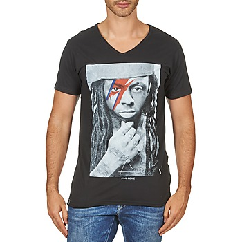 Textil Homem T-Shirt mangas curtas Eleven Paris KAWAY M MEN Preto