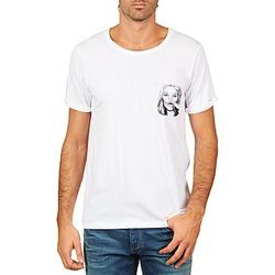 Textil Homem T-Shirt mangas curtas Eleven Paris KMPOCK MEN Branco