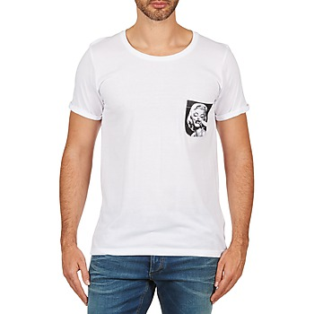 Textil Homem T-Shirt mangas curtas Eleven Paris MARYLINPOCK MEN Branco
