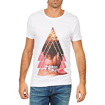 Textil Homem T-Shirt mangas curtas Eleven Paris MIAMI M MEN Branco