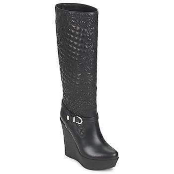 Sapatos Mulher Botas Versace DSL909R Preto