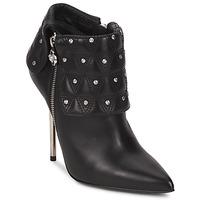 Sapatos Mulher Botins Versace DSL894P Preto