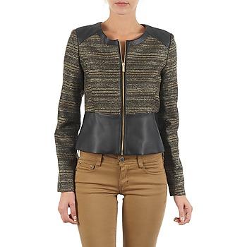 Textil Mulher Casacos/Blazers Manoukian QUEELT Preto / Dourado