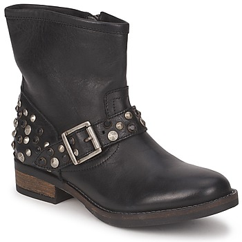 Botins Pieces ISADORA LEATHER BOOT