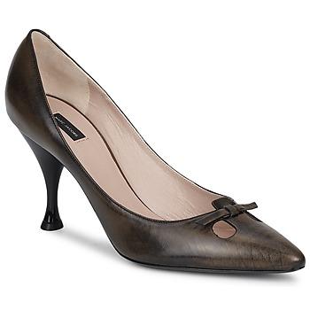 Sapatos Mulher Escarpim Marc Jacobs MALIZIA Castanho