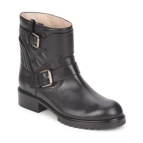 Sapatos Mulher Botas baixas Marc Jacobs OSLO Preto