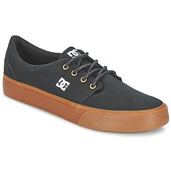Sapatos Homem Sapatilhas DC Shoes TRASE TX Preto / Dourado