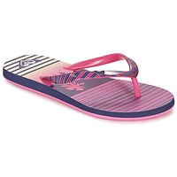 Sapatos Rapariga Chinelos Roxy RG PEBBLES V G SNDL PST Rosa