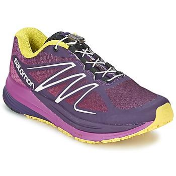Sapatos Mulher Sapatilhas de corrida Salomon SENSE PROPULSE W Violeta / Rosa / Amarelo