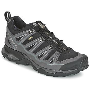 Sapatos Homem Sapatos de caminhada Salomon X ULTRA 2 GTX Preto / Cinza