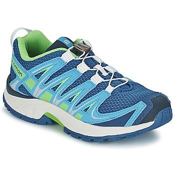 Sapatos Criança Multi-desportos Salomon XA PRO 3D JUNIOR Azul / Verde