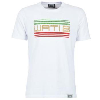 Textil Homem T-Shirt mangas curtas Wati B TSPAIL Branco