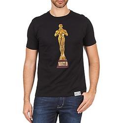Textil Homem T-Shirt mangas curtas Wati B TSOSCAR Preto