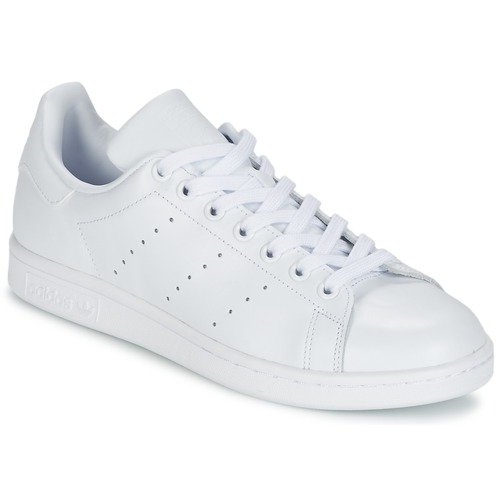 f7471e698 adidas Originals STAN SMITH Branco - Entrega gratuita | Spartoo.pt ...