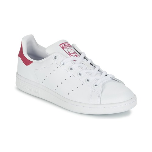 3a66ad41f adidas Originals STAN SMITH J Branco - Entrega gratuita com a ...