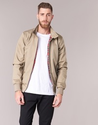 Textil Homem Jaquetas Harrington HARRINGTON PAUL Bege