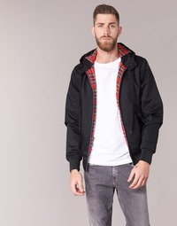 Textil Homem Jaquetas Harrington HARRINGTON HOODED Preto