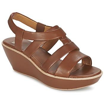 Sapatos Mulher Sandálias Camper DAMAS Castanho
