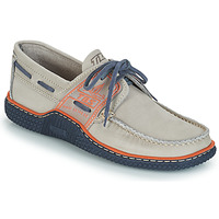 Sapatos Homem Sapato de vela TBS GLOBEK Cinza / Azul