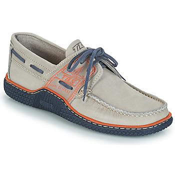 Sapatos Homem Sapato de vela TBS GLOBEK Cinza