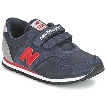 Sapatos Criança Sapatilhas New Balance KE420 Marinho / Vermelho